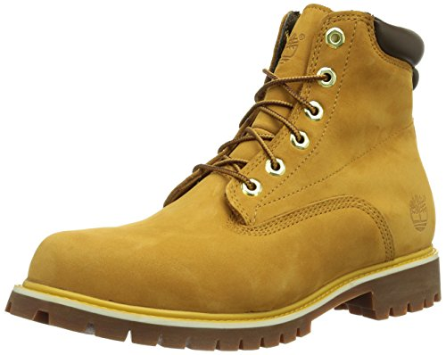 Timberland 6 In Basic_6 in Basic Alburn Boot Stivaletti Uomo, Marrone (Wheat NubuckWheat Nubuck), 43 EU