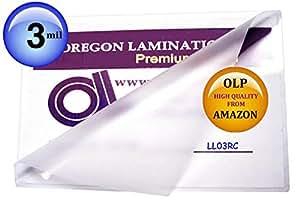 Amazon.com : Legales laminado bolsas 3 Mil 9 x 14-1 / 2 Cantidad 100