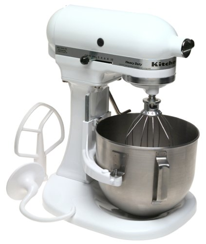 Genial Factory Reconditioned KitchenAid RRK5AWH 5 Quart Mixer White For Sale Low  Price. Discount Cheap Factory Reconditioned KitchenAid RRK5AWH 5 Quart Mixer  White ...