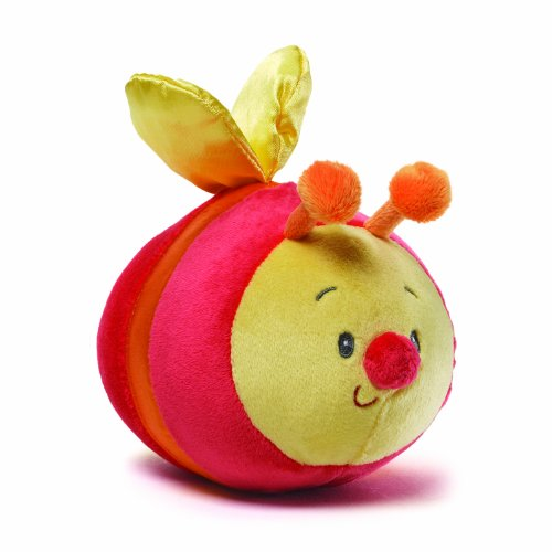 Gund Baby Color Fun Silly Sounds Toy, Bee (Discontinued by Manufacturer)