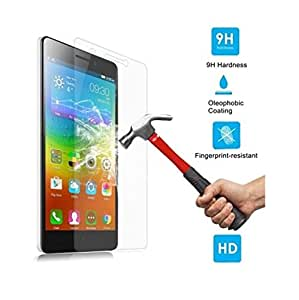 Tempered Glass Screen Protector for Micromax Canvas 2 Colors A120 -By Rainbow