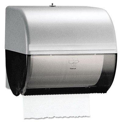 Omni Plastic Roll Towel Dispenser - Smoke