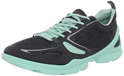 ECCO Women's Lite Running Shoe,Dark Shadow/Dark Shadow/Emerald,36 EU/5-5.5 M US