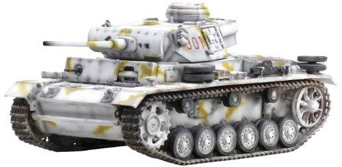 1/72 WW.II ドイツ軍 III 号戦車 L型 後期型 第7装甲師団 第25戦車連隊 南ロシア 1943 (塗装済み完成品)