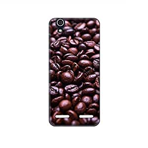Vibhar printed case back cover for Lenovo A6000 Plus CoffeeBeans