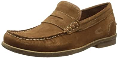 camel active Mens Garda 13 Derby, Brandy, 49 EU