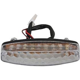 Promax Tail Light for 50 cc 70CC 90 cc 110cc 125 cc ATVs Quad 4 Wheeler Taotao SunL JCL Coolster Kandi Supermach Tank