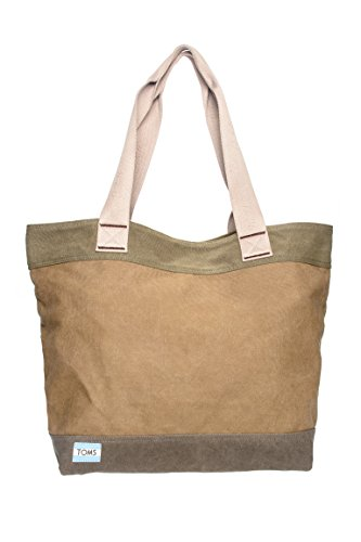 Blocked Canvas Transport Tote