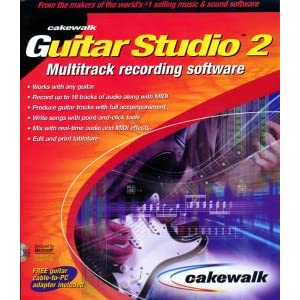 Cakewalk Guitar Studio 2
