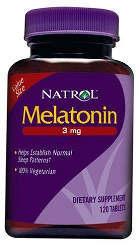 Natrol Melatonin 3Mg, 120 Tablets (Pack Of 3)