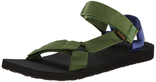 Teva Men'S M Original Universal Sandal,Green/Blue,11 M Us front-1052477