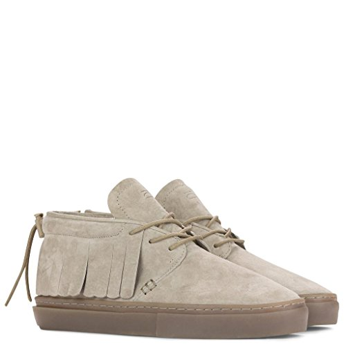 Clear Weather One-O-One Chukka Moccasins - Goat Suede - 12 Men's / 13.5 Women's