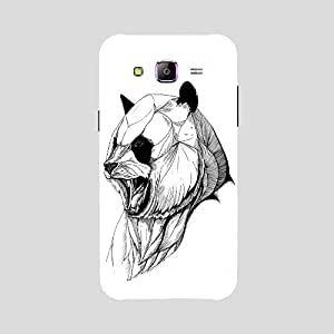 Back cover for Samsung Galaxy A7 Angry Bear