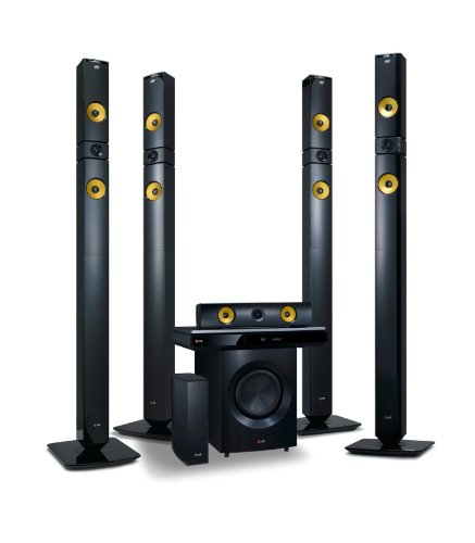LG BH9530TW 9.1Ch 3D Sound Blu-ray Home Cinema System 1460W Aramid Fibre & Rear Wireless speakers