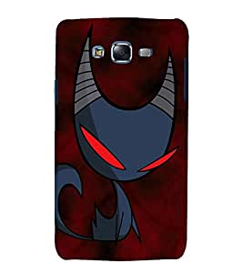 printtech Cool Cat Cartoon Back Case Cover for Samsung Galaxy A7 / Samsung Galaxy A7 A700F