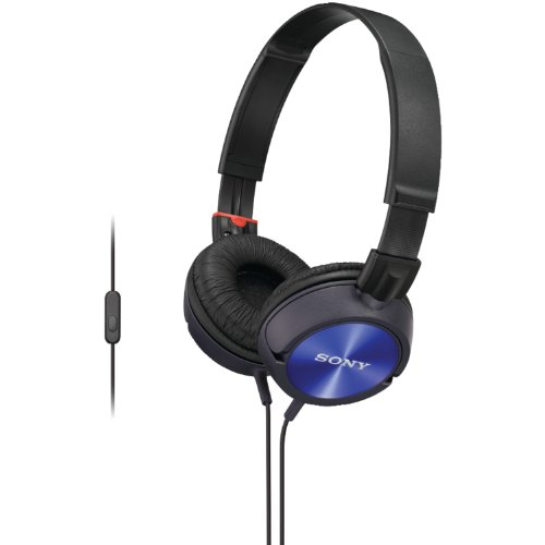 Sony Mdr-Zx300Ap/L Over The Head Headset For Andoid, Blue