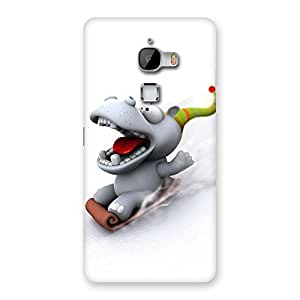 Ajay Enterprises ice scating cartoon Back Case Cover for LeTv Le Max