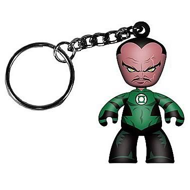Buy Low Price Mezco Green Lantern Movie Sinestro Mini Mez-Itz Key Chain Figure (B004NG248S)