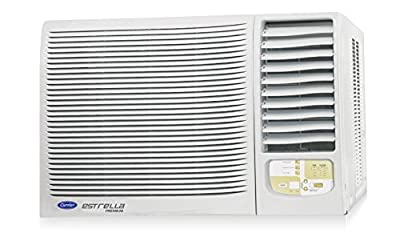 Carrier 18K Estrella Premium Window AC (1.5 Ton, 5 Star Rating, White)