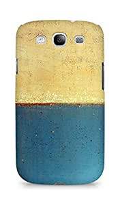 Amez designer printed 3d premium high quality back case cover for Samsung Galaxy S3 Neo (Art abstract classic paint illust blue)