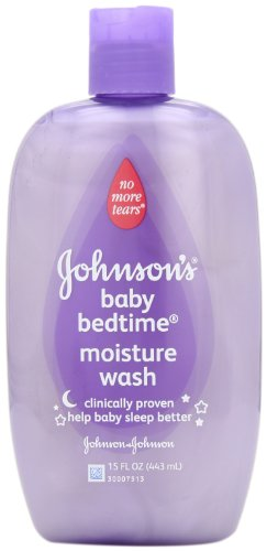 Johnson's Baby Bedtime Moisture Wash, 15 Ounce (Pack of 2) Bath Time Body