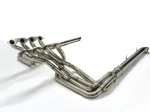 OBX Racing Exhaust Header & Resonated Side Pipe