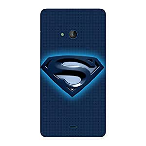 Enticing Blue Day Back Case Cover for Lumia 540