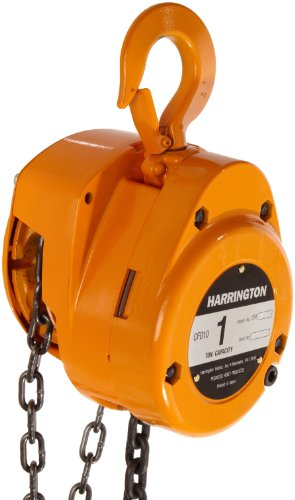 Harrington 10 ton manual chain hoist