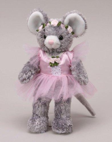 "Ballerina Fluffles Mouse 8"" by Unipak - 1"