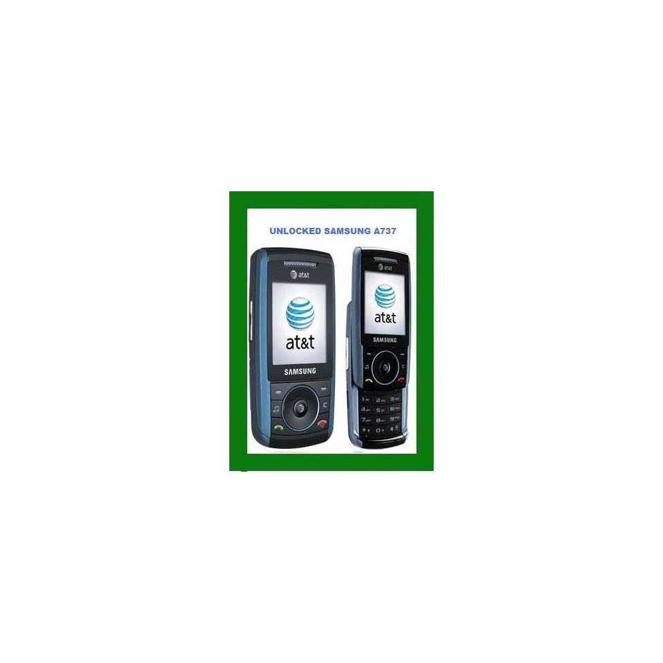 SAMSUNG SGH A737 AT&T UNLOCKED GSM CELL PHONE CAMERA BLUE