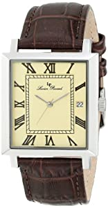 Lucien Piccard Men's LP-10501-020 Bianco Analog Display Swiss Quartz Brown Watch