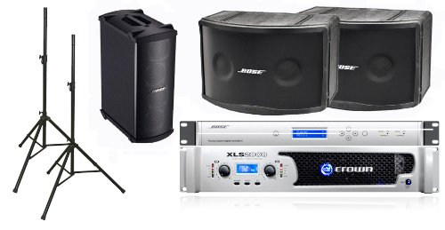 Bose 802 Iii Loudspeakers Bose Pro Audio Portable Sound System Package Includes Crown Xls2000 Amplifier