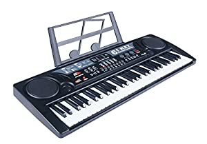 61 Key Electric Music Keyboard Piano with USB MP3 Input