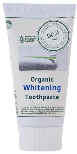 歯みがき メイド オブ オーガニクス ホワイトニングトゥースペースト 25g タカクラ