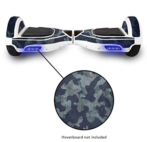 Balance-Board-Hover-Scooter-Skin-Wrap--Protective-Adhesive-Peel-Stick-Vinyl-Decal--Mini-Balancing-Hovering-Board-Scooter-2-Wheel-Self-Balancing-Unicycle-Cover-Sticker--Grunge-Camouflage