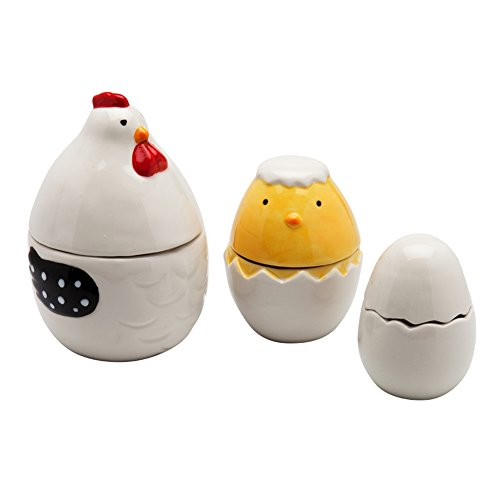 Hen House Ceramic Measuring Cup Set (Cow Measuring Spoons compare prices)