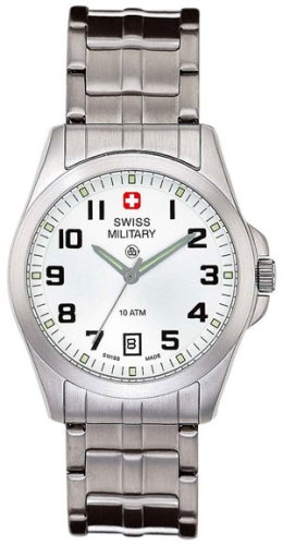 SWISS MILITARY TOMAX WATCH LINK BAND WHITE DIAL 6-5030-04-001 - Buy SWISS MILITARY TOMAX WATCH LINK BAND WHITE DIAL 6-5030-04-001 - Purchase SWISS MILITARY TOMAX WATCH LINK BAND WHITE DIAL 6-5030-04-001 (Swiss Military, Jewelry, Categories, Watches, Men's Watches, Casual Watches)