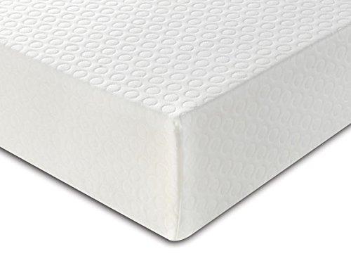 Sleepmode - Materasso doppio Continental, 135 x 190 cm, bianco, bianco, Doppio