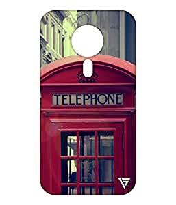 Vogueshell Vintage Telephone Printed Symmetry PRO Series Hard Back Case for Meizu M3 Note