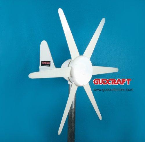 Aleko® 300W 12V Wind Generator Wind Turbine With Charge Controller