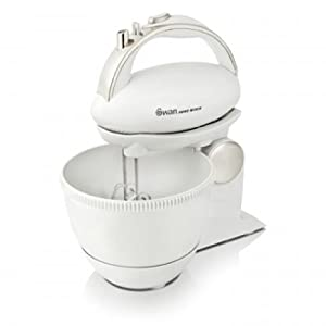 Swan SP10070N 5 Speed Hand Mixer and Bowl by Swan