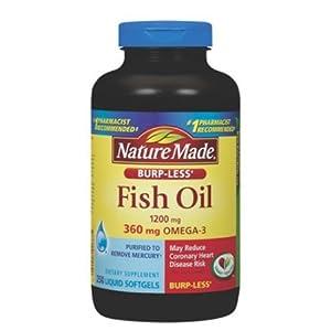 Nature Made Burp Less Fish Oil 1200 Mg 360