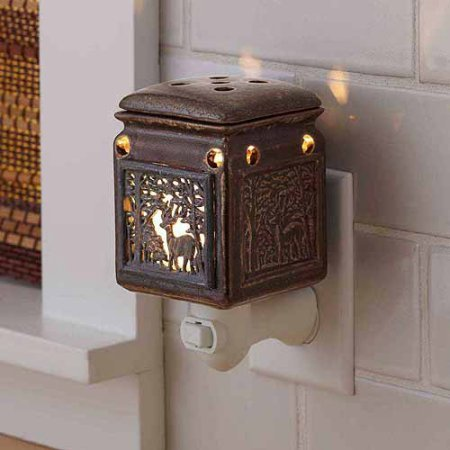 Better Homes and Gardens Accent Wax Warmer, Woodland Deer (Cow Wax Warmer compare prices)