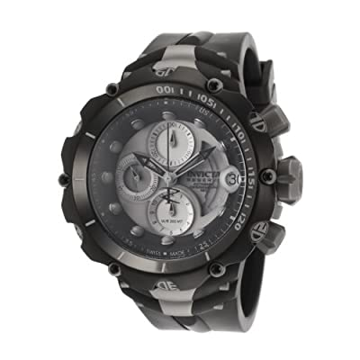 Invicta Men's 11930 Venom Reserve A07 Automatic Valgranges Titanium Case Silicone Strap Watch