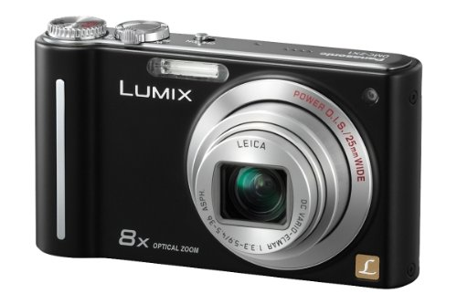 Panasonic Lumix DMC-ZX1EB-K Digital Camera - Black (12.1MP, 8x Optical Zoom)