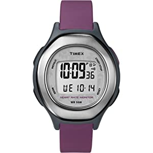 Timex Mid-Size T5K599 Health Touch Heart Rate Monitor Watch
