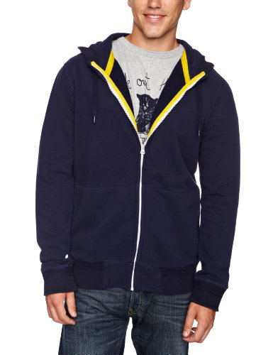French Connection Rigo Zip Men's Jumper Blueblood Large