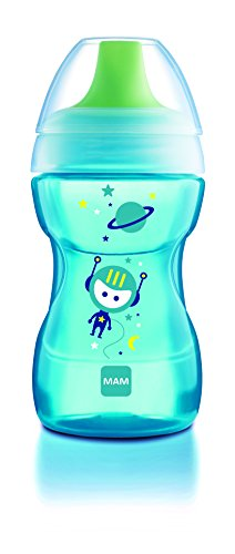 MAM Learn To Drink Training Cup, Boy, 9 Ounce