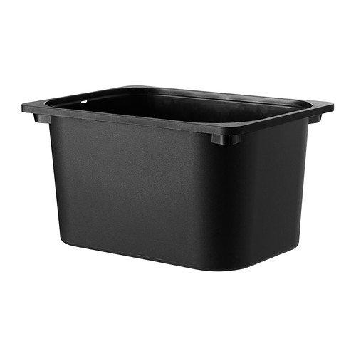 TROFAST/収納ボックス/ブラック(42x30x23)[イケア]IKEA(90252574)