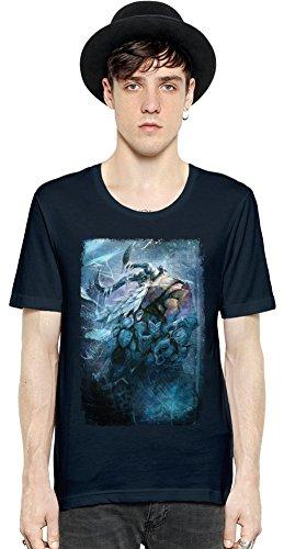 Viking Battle For Asgard Ragnarok Manica corta da uomo T-shirt Men Short Sleeve T-shirt Tee Shirt Stylish Fashion Fit Custom Apparel By Slick Stuff Large